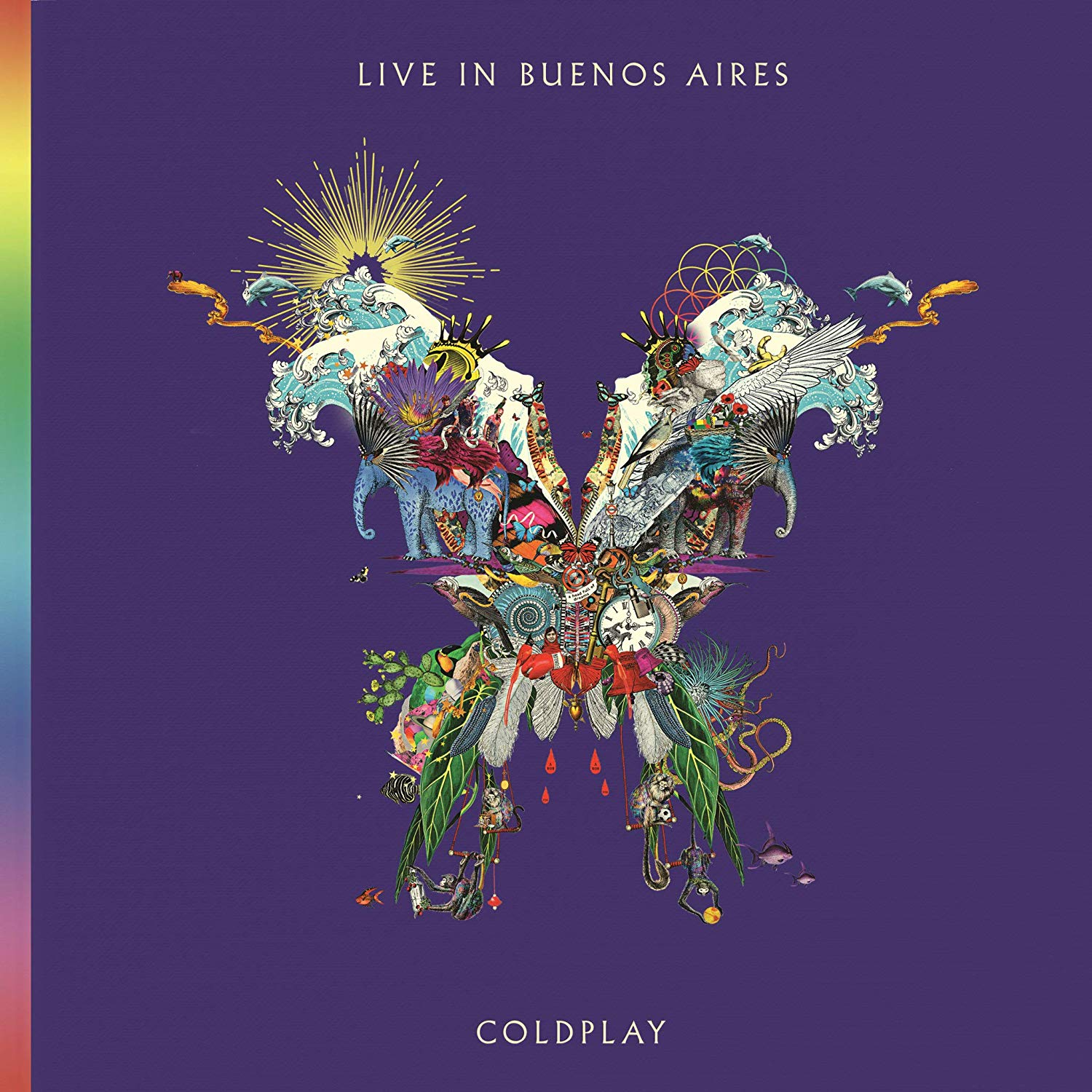 Coldplay Live in Buenos Aires album cover